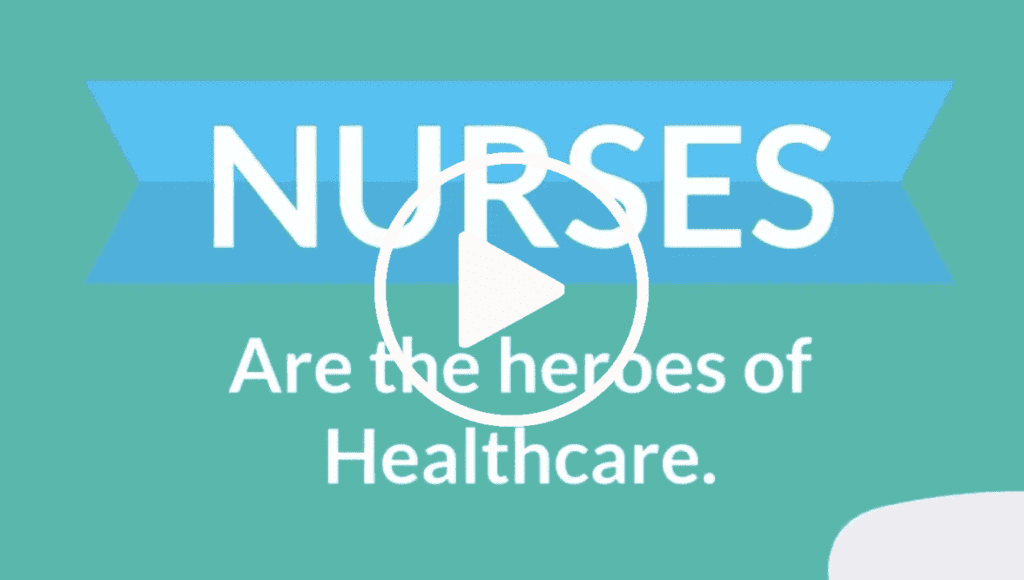 Nurses are the heroes of healthcare video cover photo