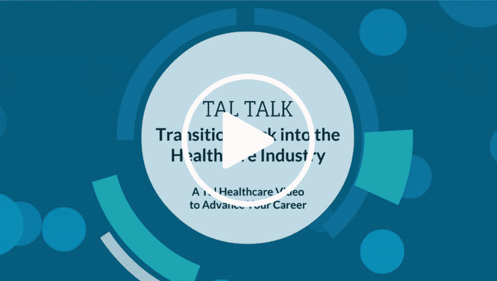 Transition Back into Healthcare Industry video cover photo