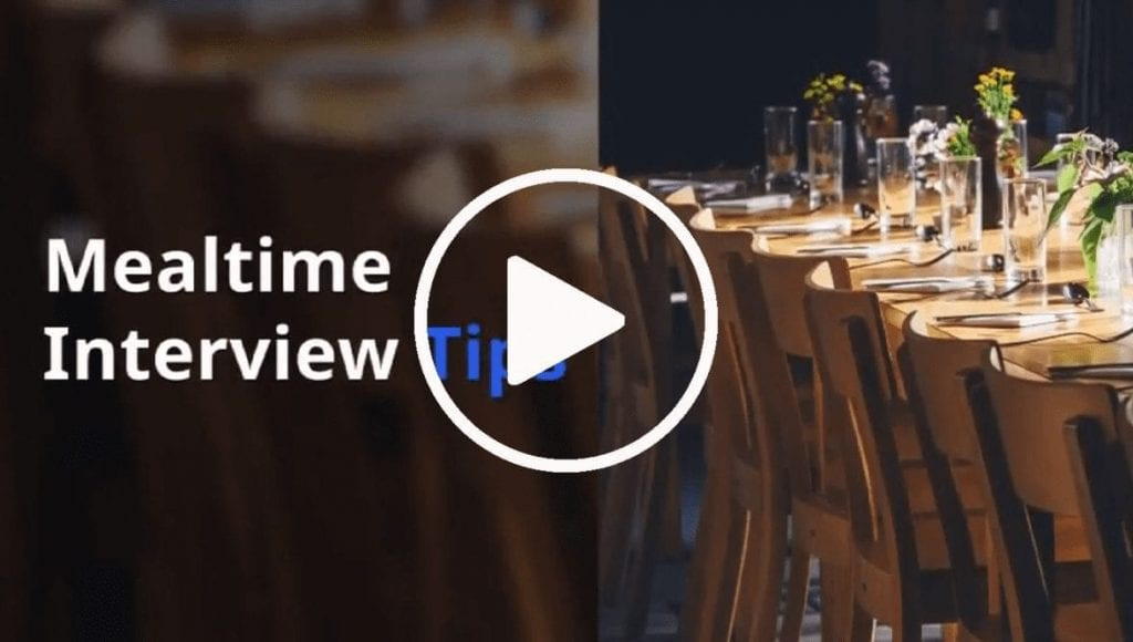 Meatime Interview Tips Video Cover Photo