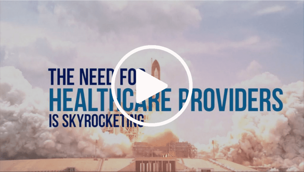 The need for healthcare providers is skyrocketing Video Cover Photo