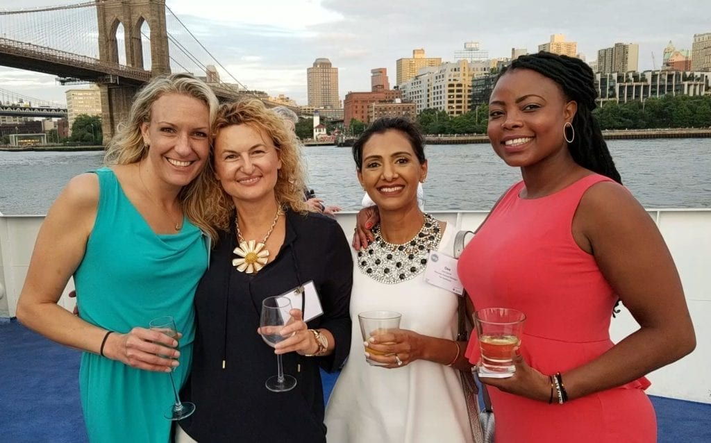 Tal Attends HLNY 2018 Boat Cruise