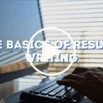 The Basics of Resume Writing