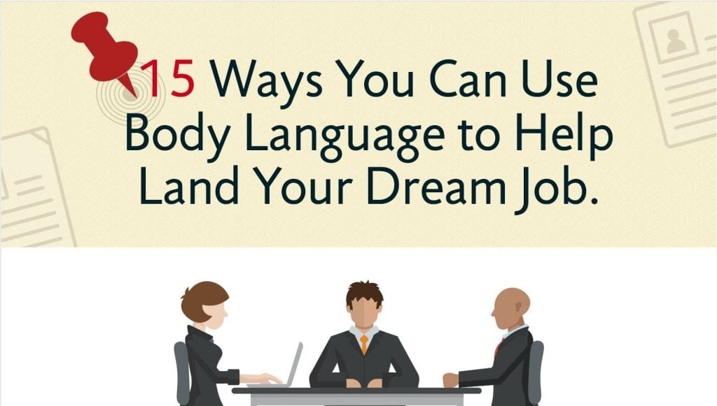 15 Ways You Can Use Body Language to Help Land Your Dream Job
