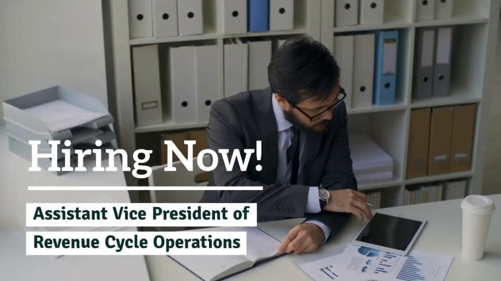 AVP Revenue Cycle Operations
